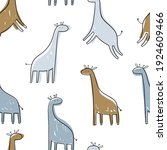 vector hand drawn colored... | Shutterstock .eps vector #1924609466