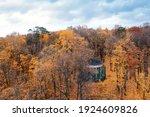 Golden Autumn. Forest  Manor ...