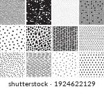 a collection of seamless... | Shutterstock .eps vector #1924622129