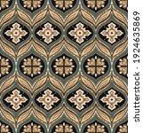 bandana print. vector seamless...   Shutterstock .eps vector #1924635869