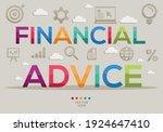 creative  financial advice ...   Shutterstock .eps vector #1924647410