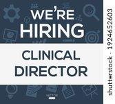 creative text design  clinical...   Shutterstock .eps vector #1924652603