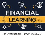 creative  financial learning ... | Shutterstock .eps vector #1924701620