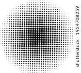 black halftone background.... | Shutterstock .eps vector #1924708259