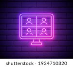 online interview icon. elements ...   Shutterstock .eps vector #1924710320