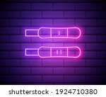 positive and negative test neon ...   Shutterstock .eps vector #1924710380