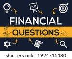 creative  financial questions ...   Shutterstock .eps vector #1924715180