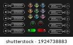 web button set  collection...