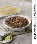 chhole  punjabi chhole  curry ... | Shutterstock . vector #192475946