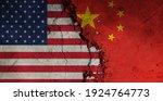 diplomatic relations between... | Shutterstock . vector #1924764773