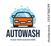 automotive wash vector logo... | Shutterstock .eps vector #1924788299