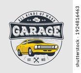 car repair service  vintage...   Shutterstock .eps vector #1924816463