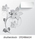 abstract floral background for... | Shutterstock .eps vector #192486614