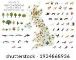 flat design of united kingdom... | Shutterstock .eps vector #1924868936