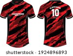 camouflage sports t shirt... | Shutterstock .eps vector #1924896893