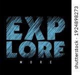 explore design typography... | Shutterstock .eps vector #1924898273