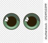 ute vector anime eyes in... | Shutterstock .eps vector #1924910399