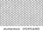 abstract monochrome asymmetry... | Shutterstock .eps vector #1924916483