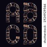 3d rendering of steampunk... | Shutterstock . vector #1924929566