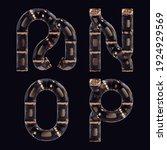 3d rendering of steampunk... | Shutterstock . vector #1924929569