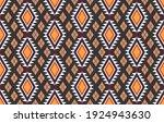 tribal ethnic vector pattern... | Shutterstock .eps vector #1924943630