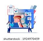 ent doctors scientists examine... | Shutterstock .eps vector #1924970459