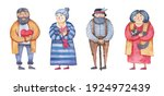 character woman and man...   Shutterstock .eps vector #1924972439