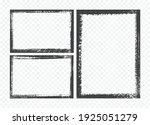 grunge frames set.abstract... | Shutterstock .eps vector #1925051279