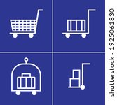 shopping cart icons. great... | Shutterstock .eps vector #1925061830