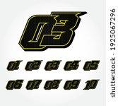 simpel star racing start number ... | Shutterstock .eps vector #1925067296