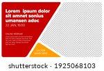 social network event cover... | Shutterstock .eps vector #1925068103