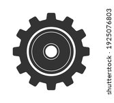 gear vector icon isolated on...