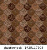 assorted chocolate pralines  ... | Shutterstock .eps vector #1925117303