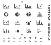 infographics icons .vector eps10 | Shutterstock .eps vector #192512399