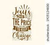 easter day typography quotes... | Shutterstock .eps vector #1925124830