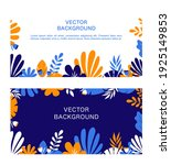 flat minimal background. vector ... | Shutterstock .eps vector #1925149853