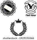 design vector emblem for print... | Shutterstock .eps vector #1925153366