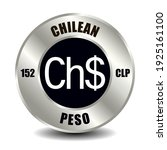 chile money icon isolated on... | Shutterstock .eps vector #1925161100