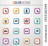 new stiker and label icon set... | Shutterstock .eps vector #1925182349