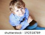Portrait Of Adorable Little Boy ...