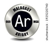 madagascar money icon isolated...   Shutterstock .eps vector #1925220740