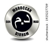 morocco money icon isolated on...   Shutterstock .eps vector #1925227709