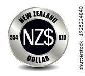 nea zealand money icon isolated ...   Shutterstock .eps vector #1925234840