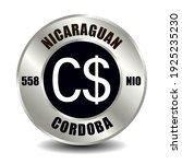 nicaragua money icon isolated...   Shutterstock .eps vector #1925235230