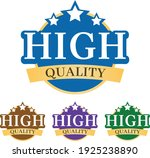 high quality 3d badge  label ... | Shutterstock .eps vector #1925238890