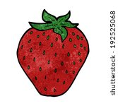 cartoon strawberry | Shutterstock . vector #192525068