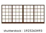 shoji   japanese traditional... | Shutterstock .eps vector #1925263493