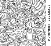 elegant seamless pattern with... | Shutterstock . vector #192526673