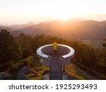 Sunrise Panorama Of Mirador El...