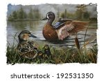 Ducks Torn Edges